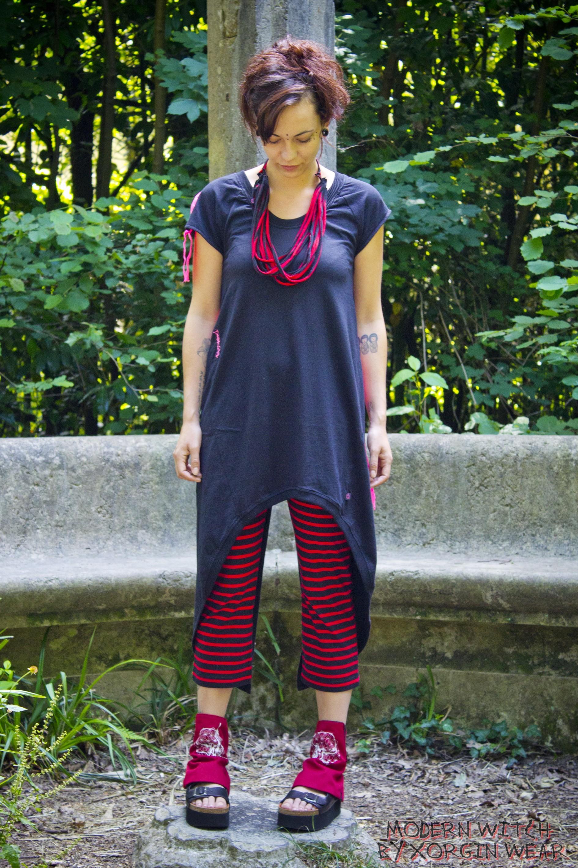 Legging SUPRÊME Noir & Rouge