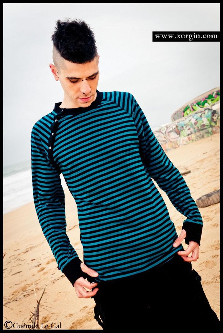 Tee Shirt Manche longue Rayé VODOO DRUMS