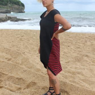 Robe OUIJA 2.0 Noir & Rouge