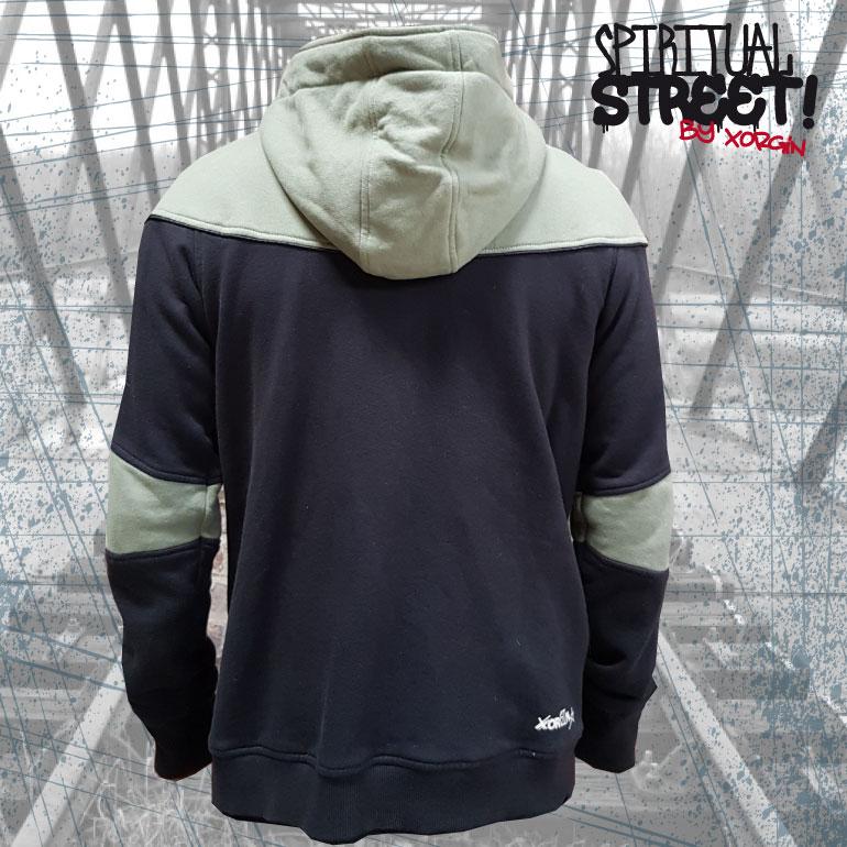 Sweat shirt zippé VODOO 2nd Choix